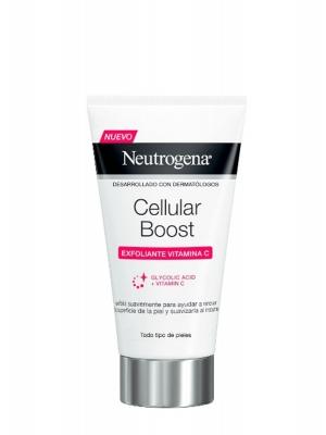 Neutrogena cellular boost vitamin c exfoliante 75ml