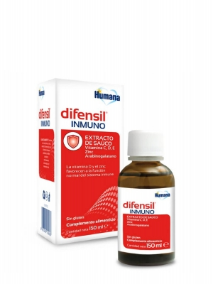 Humana difensil inmuno 150 ml