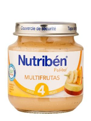 Nutriben multifrutas 130 gr