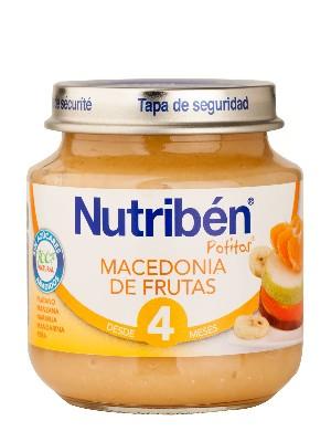 Nutriben macedonia de frutas 130gr