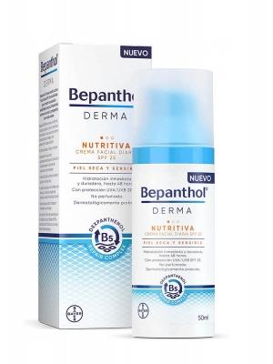 Bepanthol derma nutritiva crema facial spf 25 50 ml