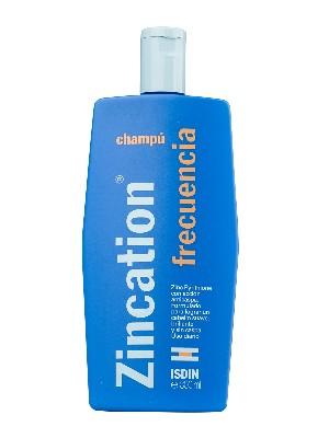 Isdin zincation champú frecuencia 300 ml