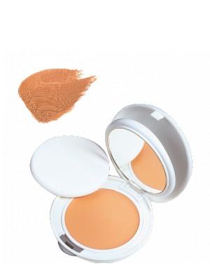 Avene couvrance crema compacta, nº 4 tono miel oil free, 9.5 gr