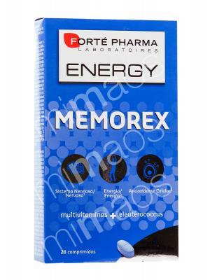 Forte pharma memorex vitaminas 30 comprimidos