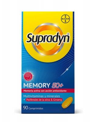 Supradyn memory 50+ 90 comprimidos