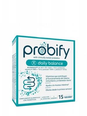 Probify daily balance 15 cápsulas