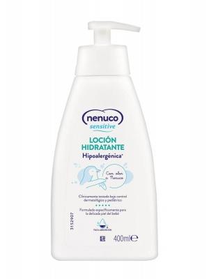 Nenuco sensitive loción hidratante 400 ml