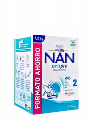 Nestle nan optipro 2 leche de continuación 2x600 gr