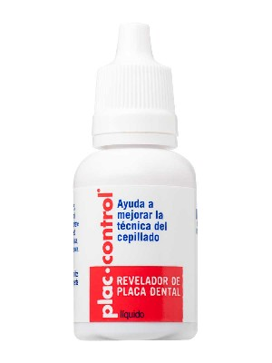 Plac control liquido revelador placa dental 15 m