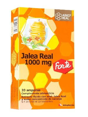 Jalea real fresca forte 1000 mg, 20 ampollas arkoreal