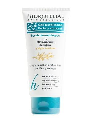 Gel exfoliante facial y corporal hidrotelial 200 ml
