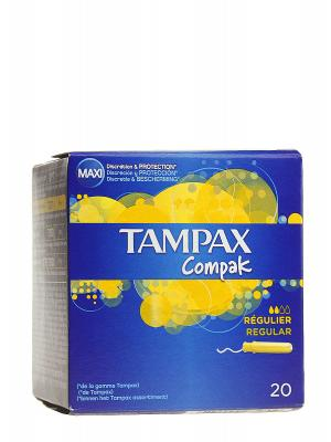 Tampax compack regular 20 unidades