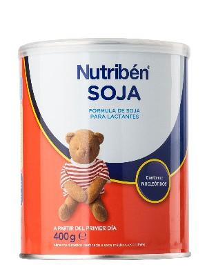 Nutriben soja en lata 400 gr