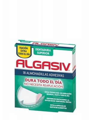 Algasiv almohadillas adhesivas superiores prótesis 18 unidades