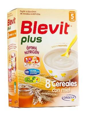 Blevit plus 8 cereales con miel 300 g