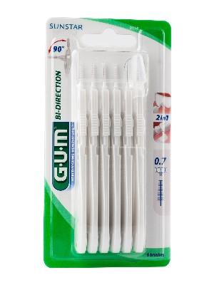 Cepillo interdental gum 2114 proxabrush bi-direccional