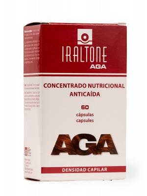 Iraltone aga concentrado nutricional anticaída 60 cápsulas