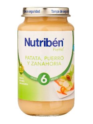 Nutriben patata puerro zanahoria 250 gr