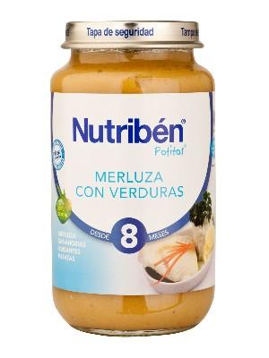 Nutriben merluza con verdura 250 gr