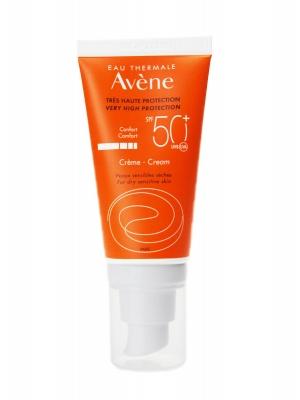 Avène protección solar en crema spf 50+ 50 ml