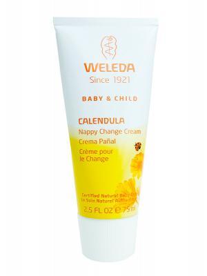 Weleda® crema caléndula culito de bebé pañal 75 ml