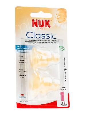Nuk tetina leche tatex-1 2 unidades