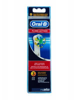 Recambio de cepillo eléctrico oral b floss action 3 unidades