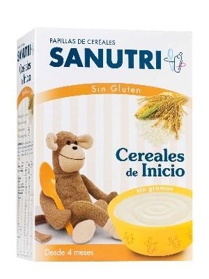 Sandoz papilla cereales de inicio sin gluten 600gr