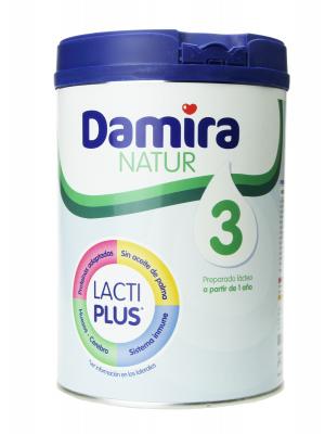 Damira natur 3 leche de crecimiento 800 gr