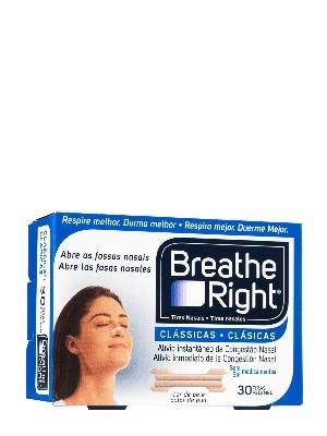 Breathe right tira nasal tamaño pequeño-mediano 30 unidades
