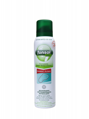 Funsol desodorante y antitranspirante en spray 150 ml