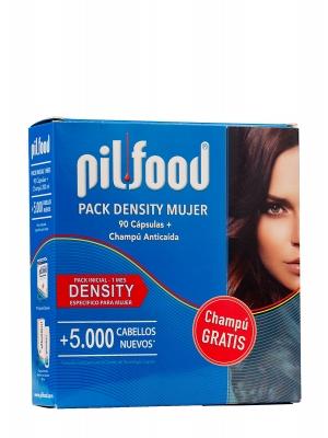 Pilfood pack intensity mujer 1 mes, 15 ampollas y 90 cápsulas.