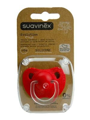 Suavinex  chupete evolution t anatomica silicona
