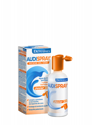 Audispray junior solucion limpieza oídos 25 ml