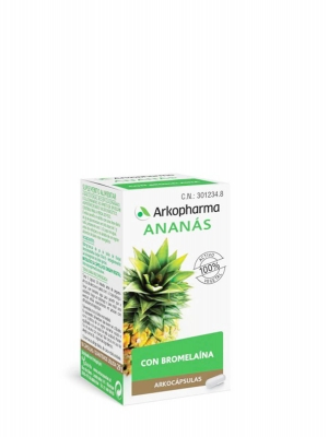 Arkopharma arkocápsulas ananás 50 cápsulas