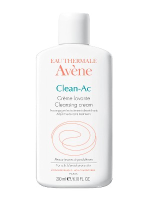 Clean-ac crema dermolimpiadora facial de avène, 200 ml