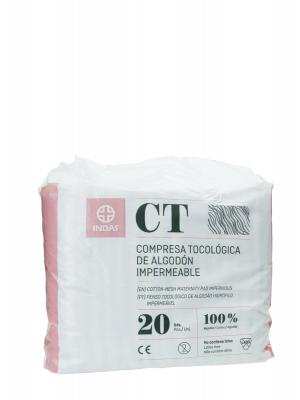 Indas compresas maternity algodón 20 unidades