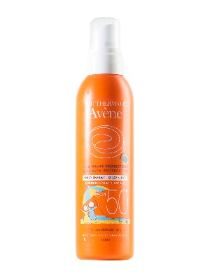 Avène spray infantil spf 50+ 200 ml