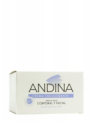 Crema decolorante andina, 30 ml.