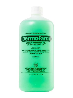 Dermofardi espuma dermoprotectora 1000 ml.