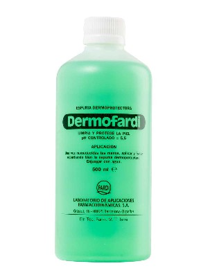 Dermofardi espuma dermoprotectora 500 ml