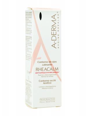 A-derma rheacalm contorno de ojos calmante 15 ml