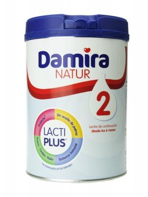 Damira natur 2 leche de continuación 800 gr