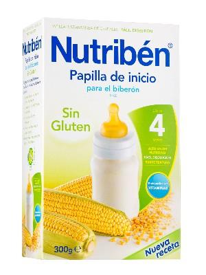 Nutriben inicio biberon papilla sin gluten 300 gr