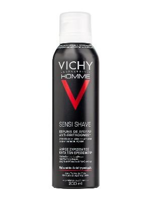 Vichy homme espuma de afeitar piel sensible 200gr