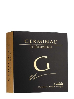 5 ampollas germinal acción inmediata, 1,5 ml