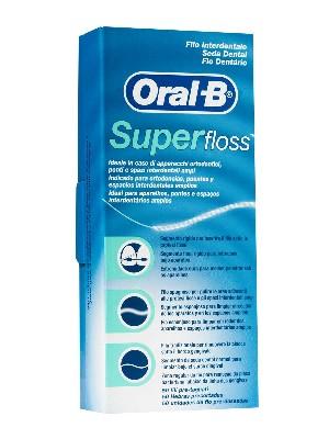 Oral-b seda dental superfloss 50 unidades