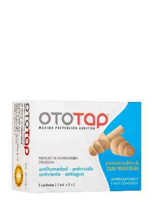 Tapones oidos oto-tap goma premolde 2 unidades