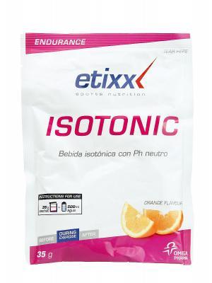 Isotonic sabor naranja de etixx, 1 sobre de 35g