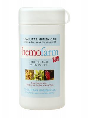 Hemofarm toallitas 60 u